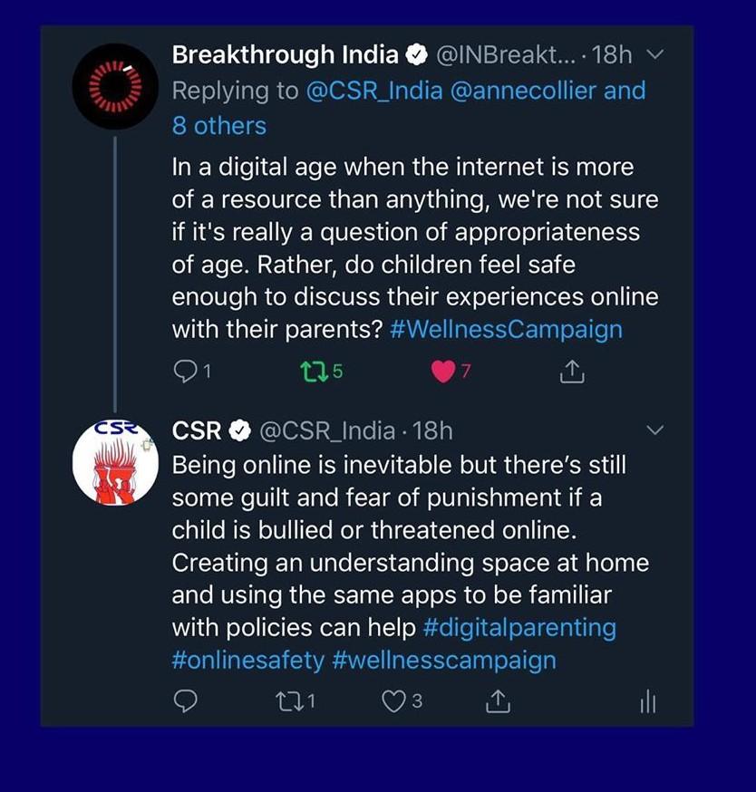 Tweetchat - Digital Parenting