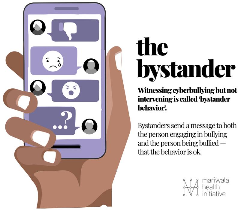 Cyberbullying-Bystander