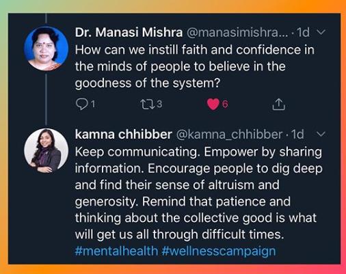 Tweetchat- mental health