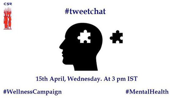 Tweet chat- Mental health